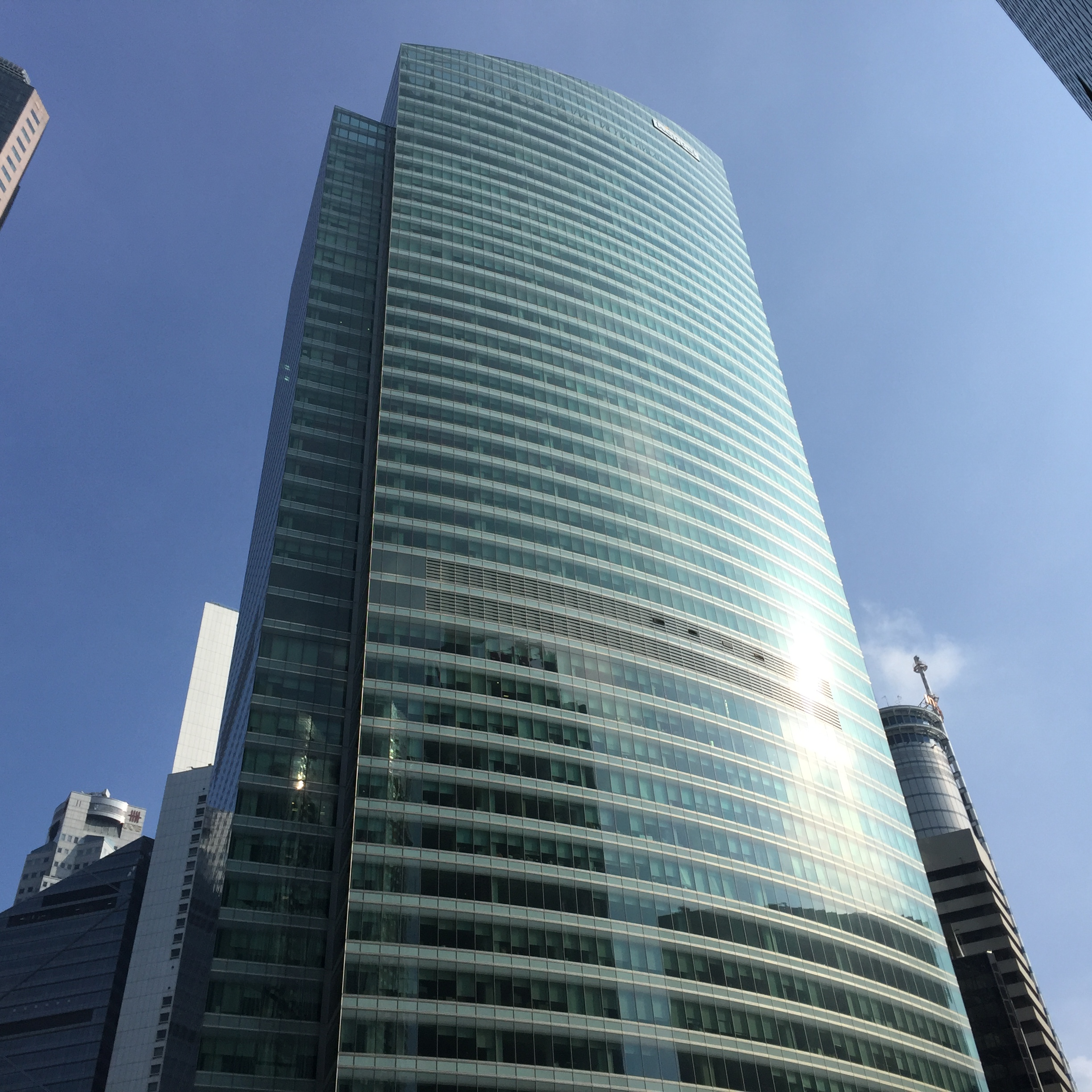 Keppel REIT's Ocean Financial Centre, in which a stake was sold to Allianz Real Estate in 2018. (Photo: REITsWeek)