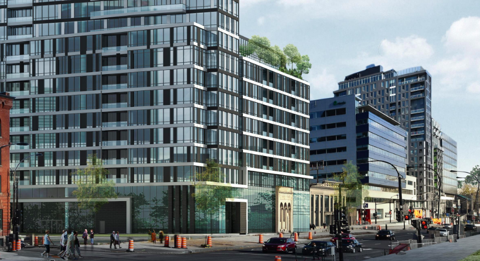Crombie REIT's development project, Le Duke. (Photo: Crombie REIT)