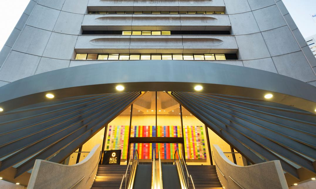 MLC Centre, an office property in Sydney that was recently divested by the GPT Group. (Photo: GPT Group)