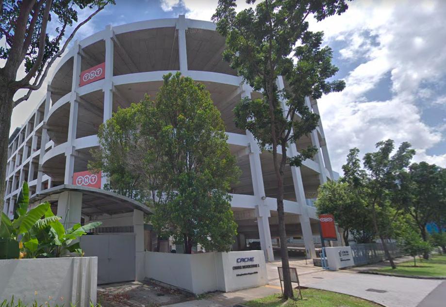 Cache Logistics Trust's Changi Districentre 1. (Photo: Google Maps)