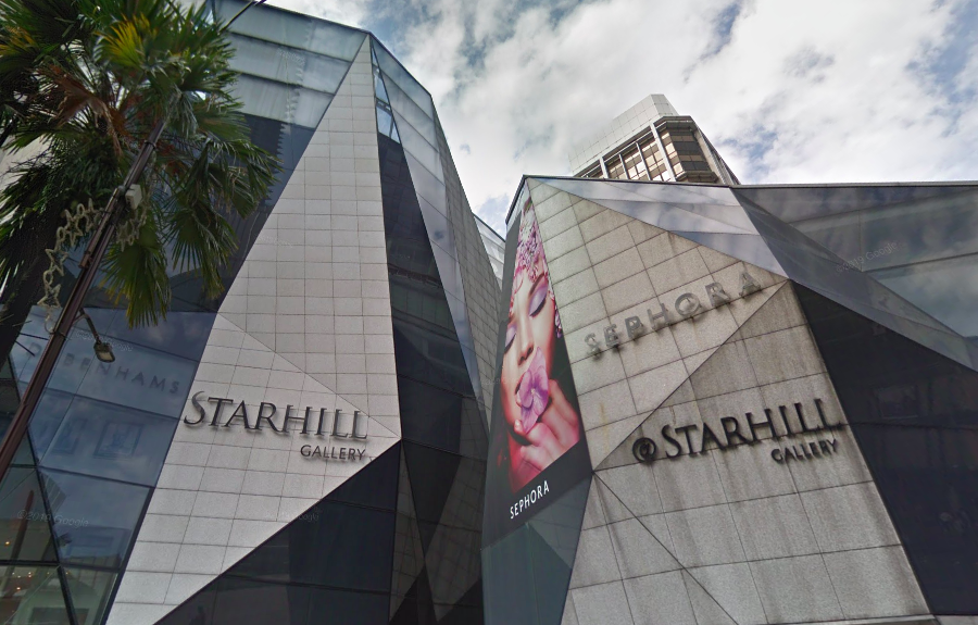 Starhill Global REIT's flagship property in Malaysia, Starhill Gallery. (Photo: Google Maps)