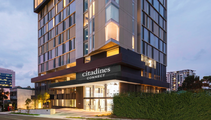 Citadines Connect Sydney Airport. (Photo: Ascott REIT)