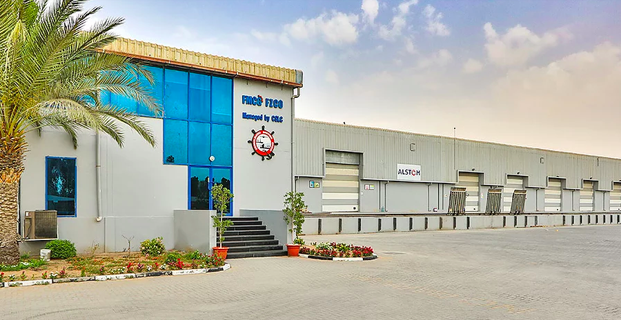 A Manrre REIT property within the Jebel Ali Free Zone North. (Photo: Manrre REIT)
