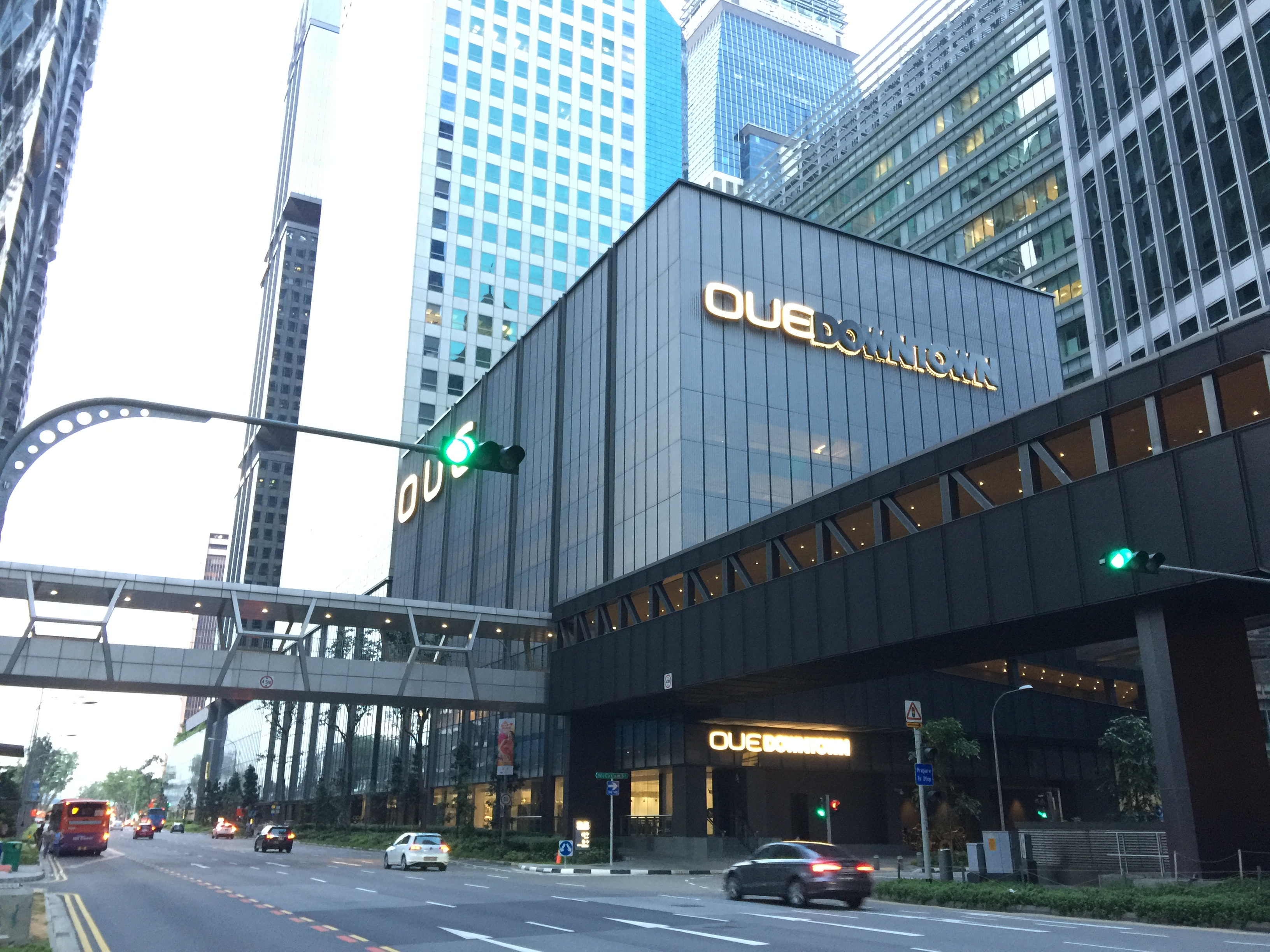 OUE Commercial REIT's OUE Downtown (Photo: REITsWeek)