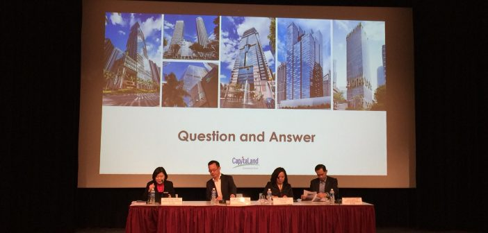 CapitaLand Commercial Trust sheds light on future acquisition plans