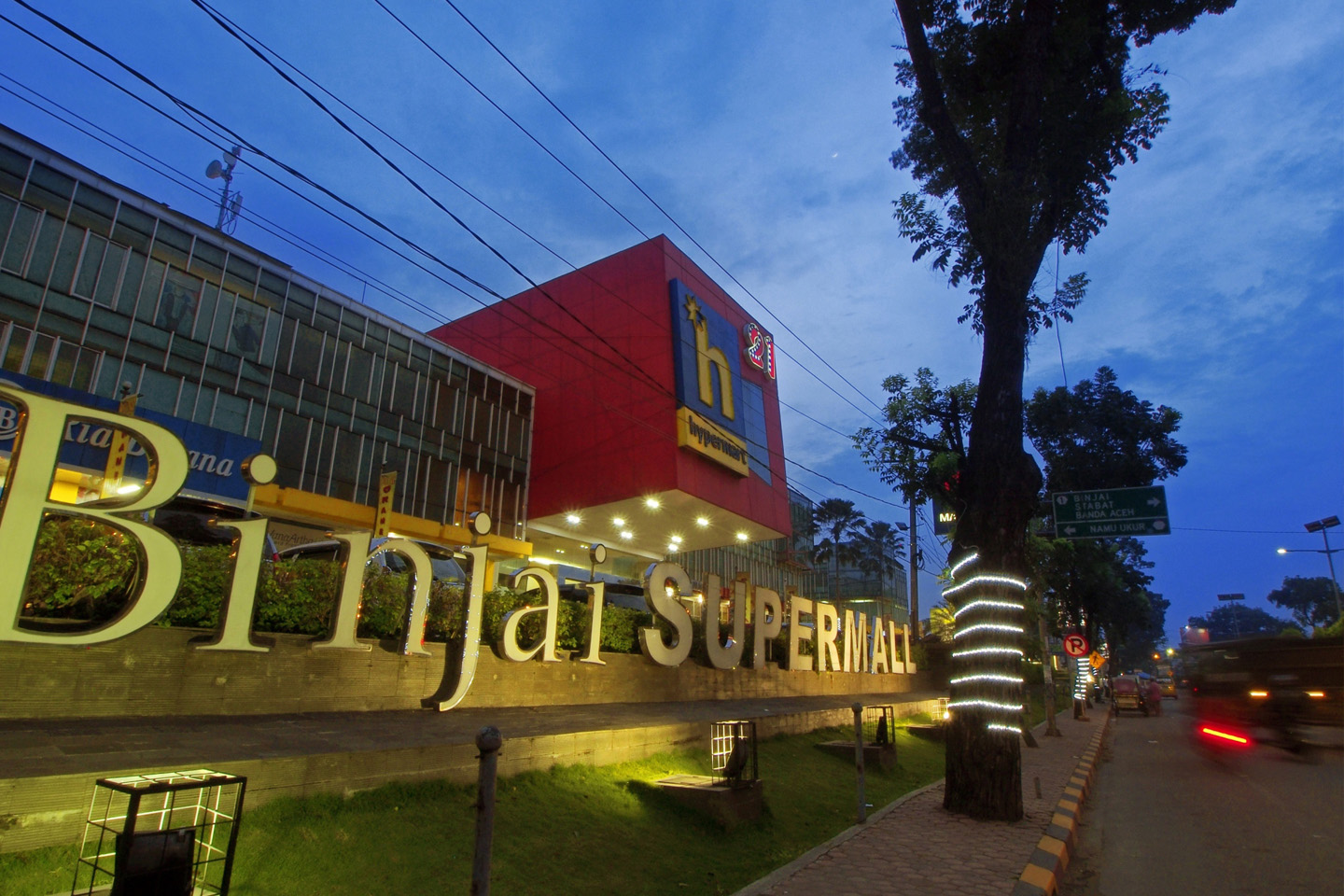 Binjai Supermall (Photo: Lippo Malls Indonesia Retail Trust)