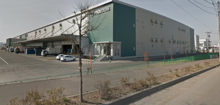 Nippon Prologis REIT property, Prologis Park Iwanuma 1. (Photo: Google Maps)