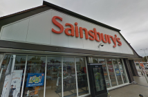 The Sainsbury's store at Kidlington, Oxford Road, one of 26 properties in the target portfolio, in which a stake will be acquired by a joint venture involving Supermarket Income REIT. (Photo: Google Maps)