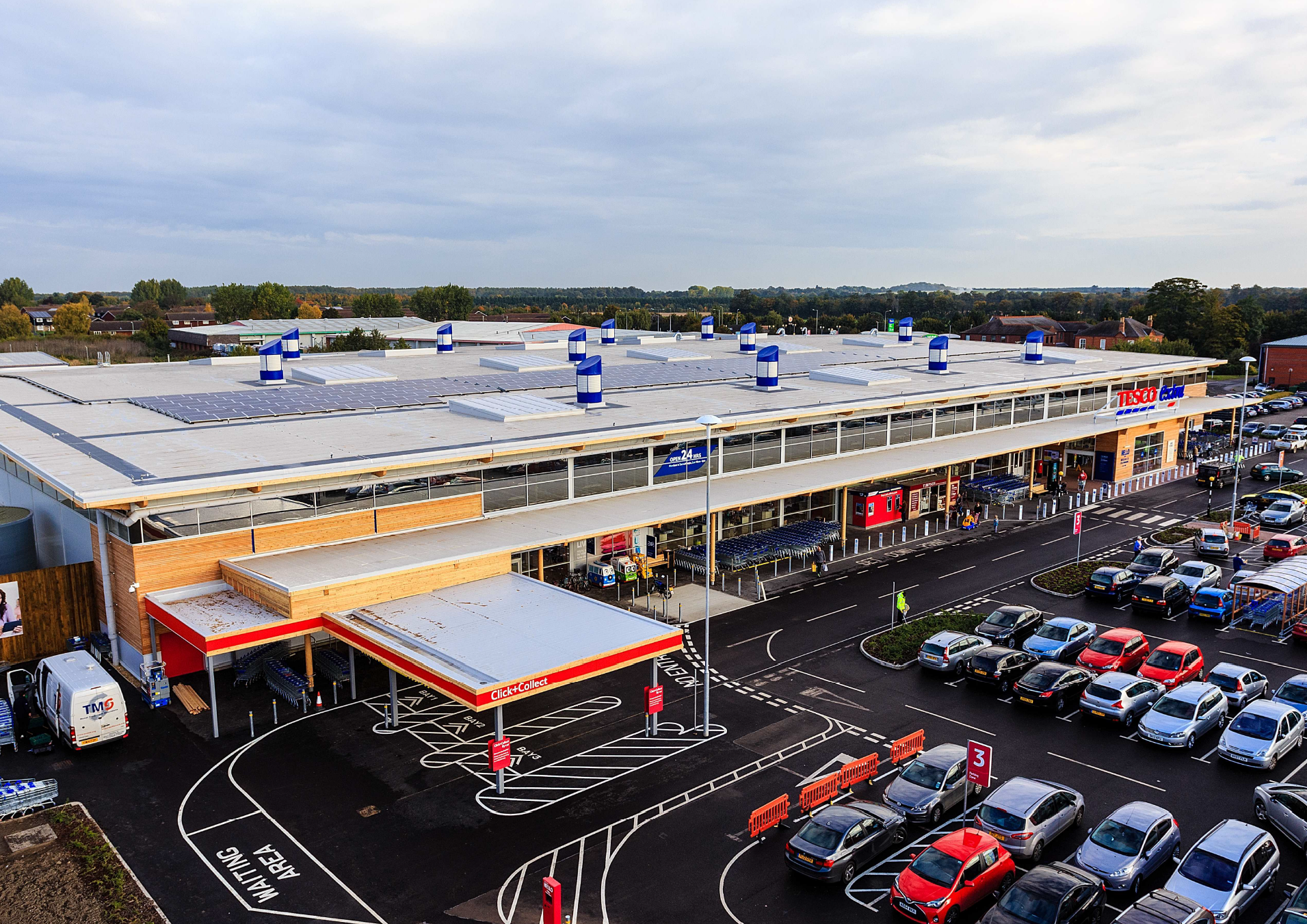 Tesco Extra at Newmarket (Photo: Supermarket Income REIT)