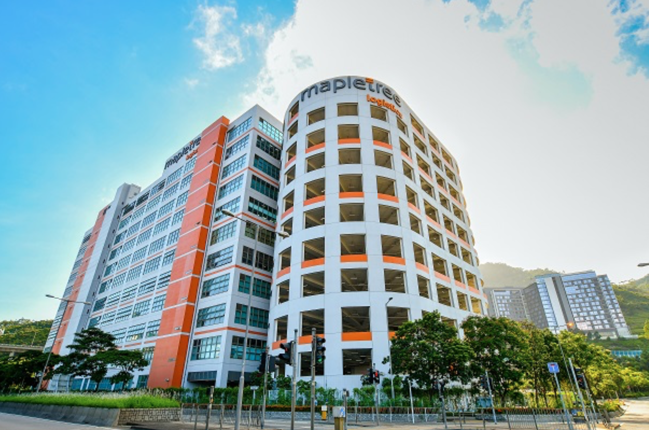 Mapletree Logistics Hub Tsing Yi, a property of Mapletree Logistics Trust in Hong Kong. (Photo: Mapletree Logistics Trust)