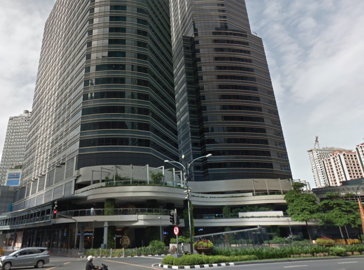 Ayala North Exchange, a property in the initial portfolio of Ayala Land REIT. (Photo: Google Maps)