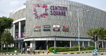 Century Square, a property that will come fully under the ambit of Frasers Centrepoint Trust with its acquisition of the remaining stake in ARF. (Photo: Frasers Centrepoint Trust)