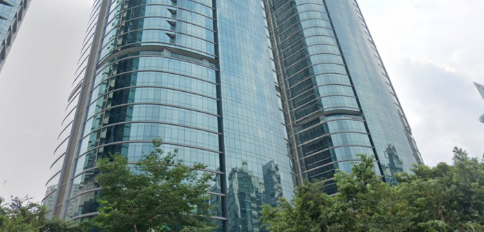 UOA Corporate Tower, which is being acquired by UOA REIT. (Photo: Google Maps)