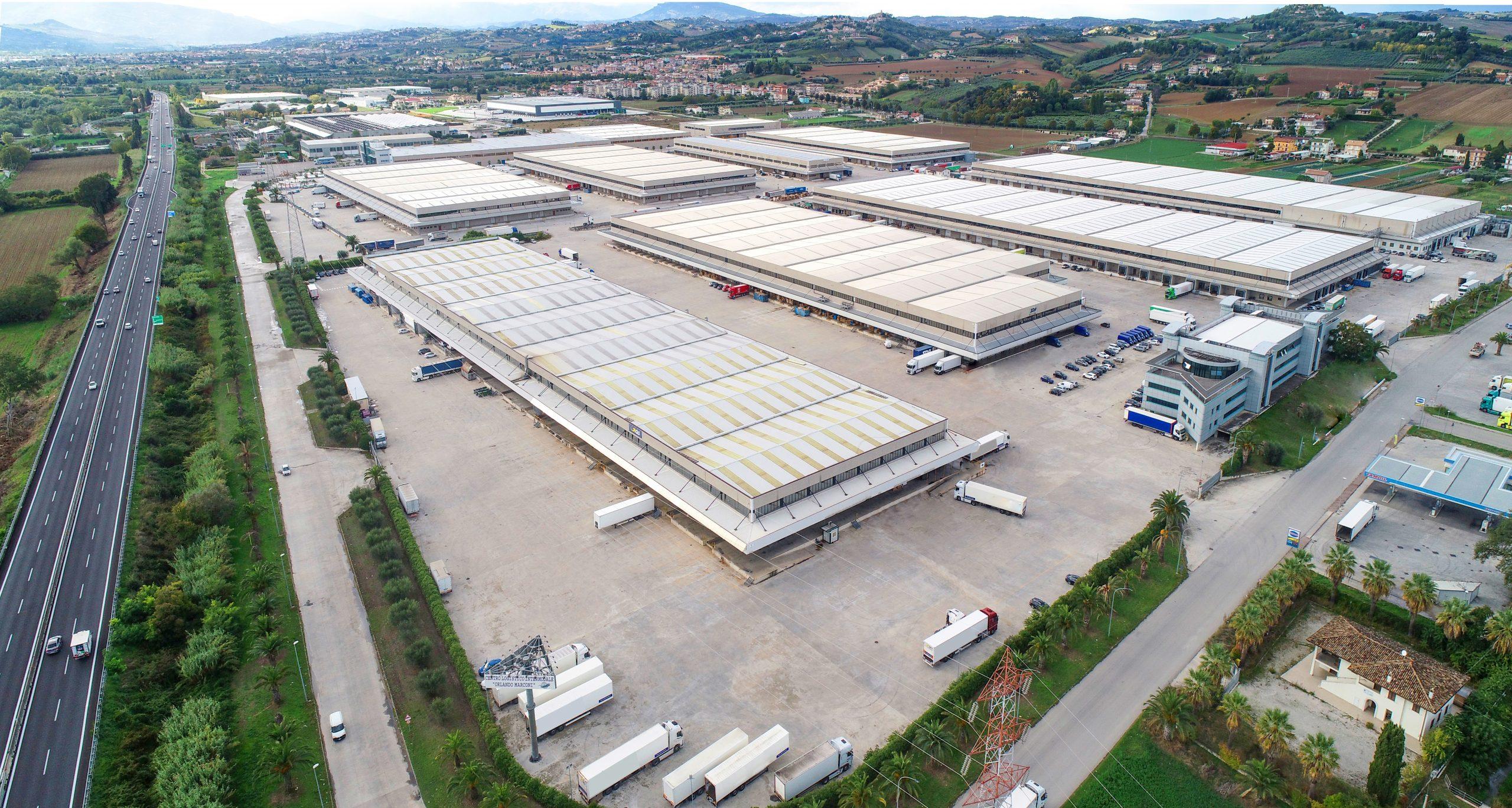 Centro Logistico Intermodale Orlando Marconi. (Cromwell European REIT)