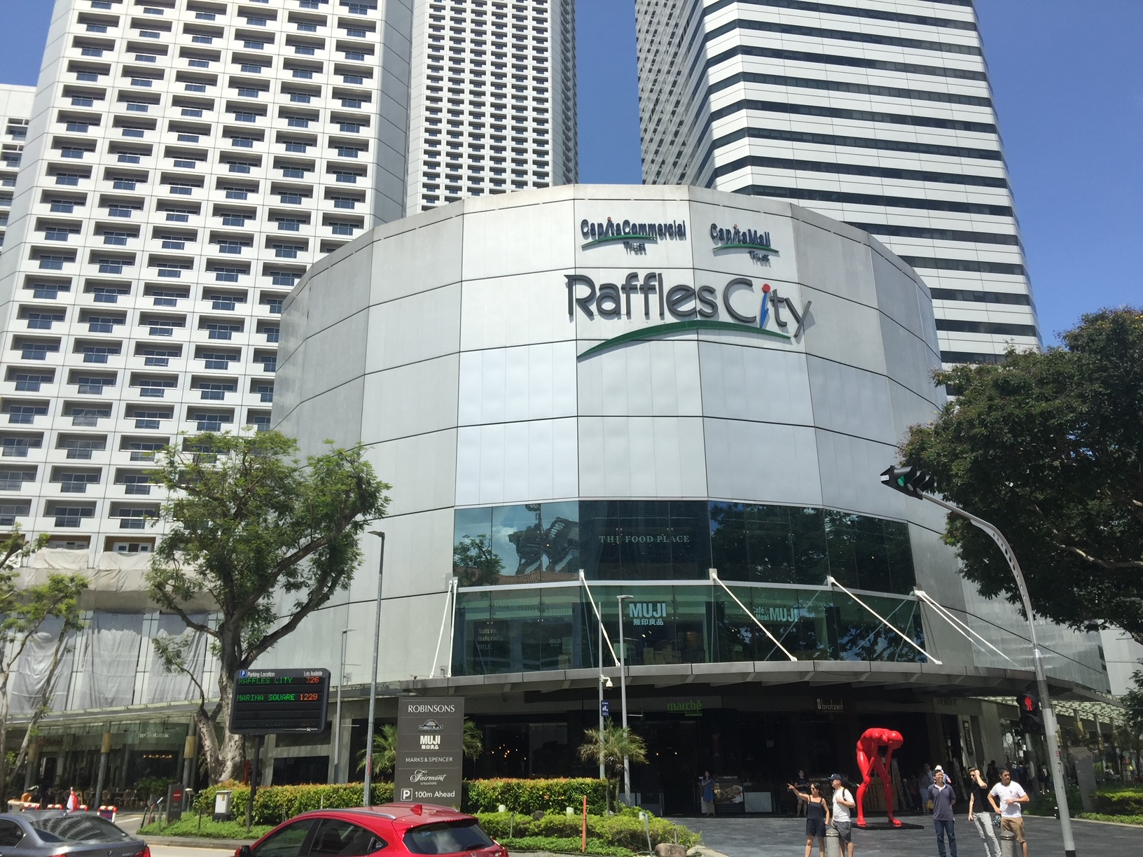 Raffles City Singapore, a property of CapitaLand Integrated Commercial Trust. (Photo: REITsWeek)