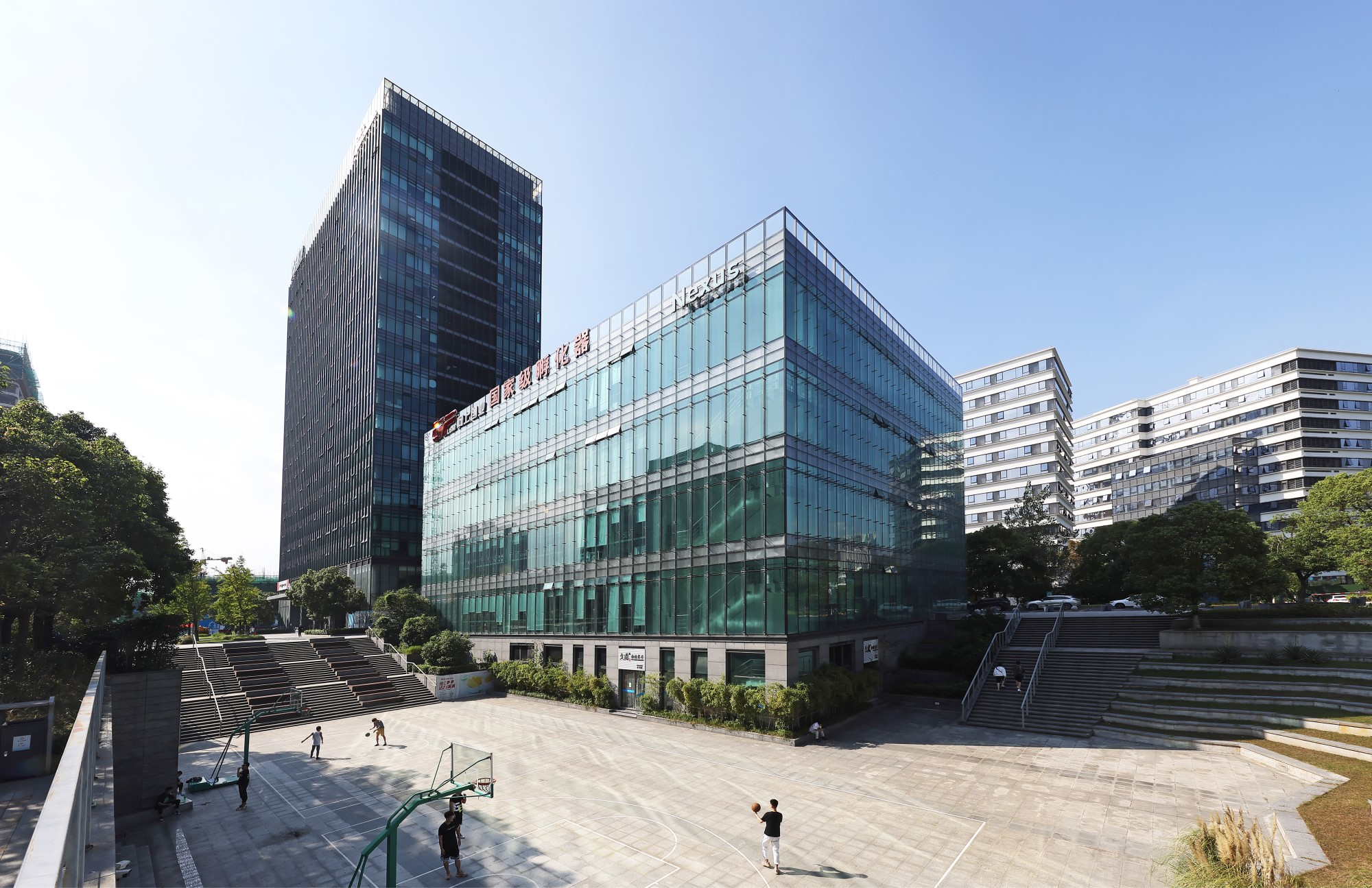 An Ascendas business park property that will soon be inducted into CapitaLand Retail China Trust's portfolio.