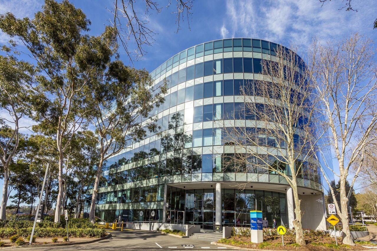 Ascendas REIT property, 1 – 5 Thomas Holt Drive, Macquarie Park in Sydney. (Ascendas REIT)