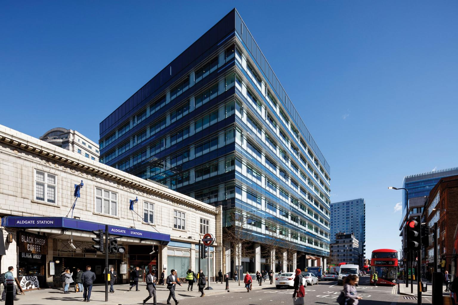 Aldgate House, an asset that may soon be pinned-off by CDL into a REIT. (CDL)