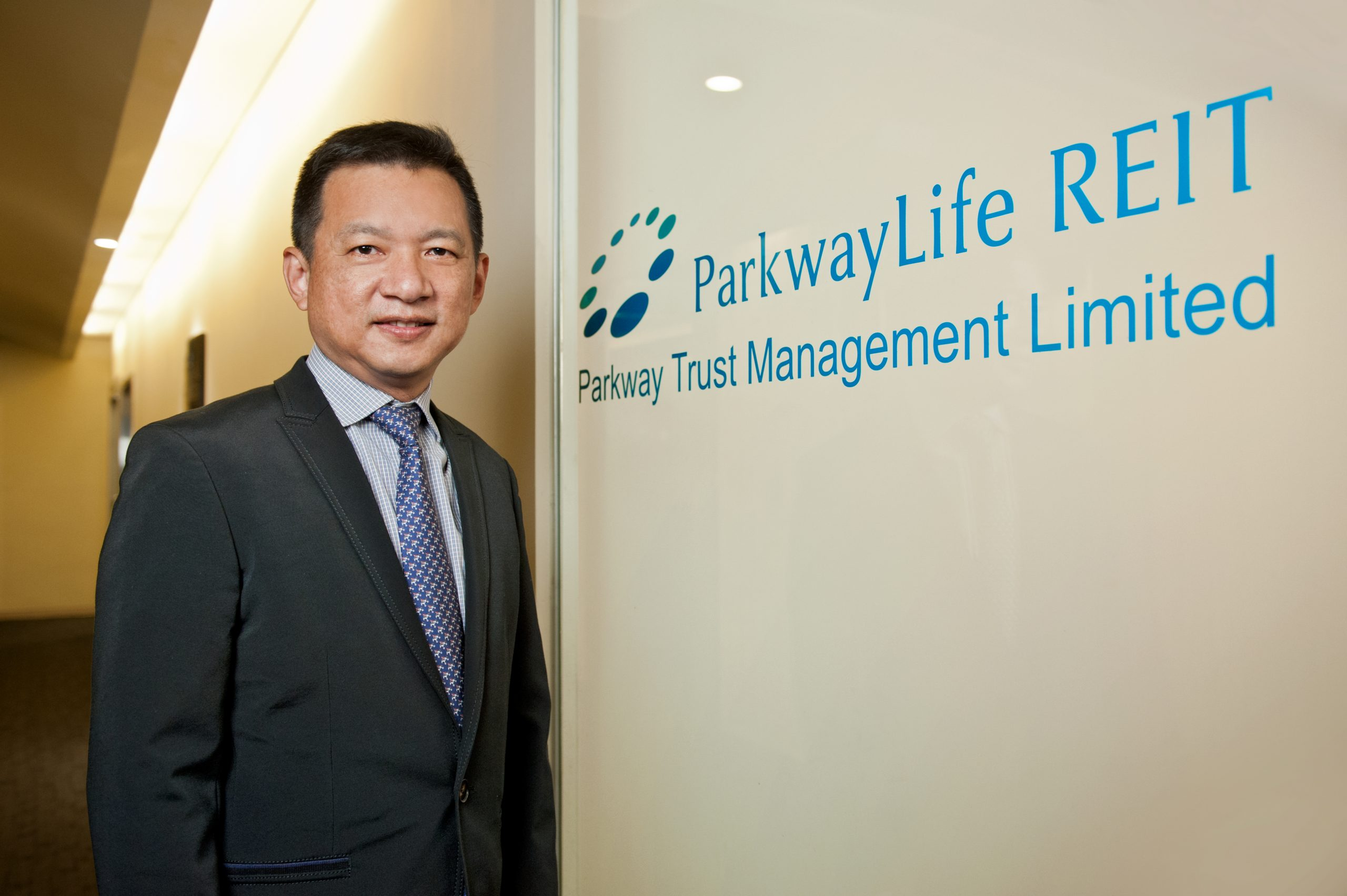 Yong Yean Chau, CEO of Parkway Life REIT's manager. (Parkway Life REIT)