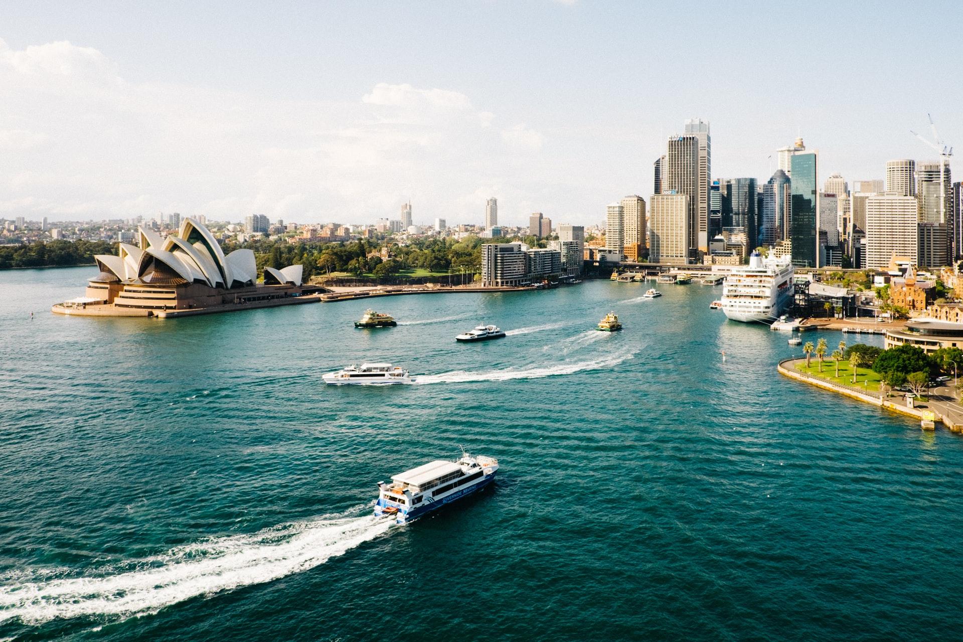The Australian skyline. Photo by Dan Freeman on Unsplash.